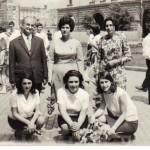 Випуск 1969, абитуриенти и учители на 24 май 1969