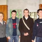 Бивши ученици дошли на 1 март 2010