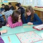 Скрабъл по групи, 9 клас, декември 2009