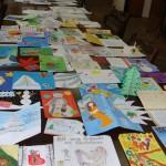 Октомври 2010, картички, изработени от ученици от НЕГ