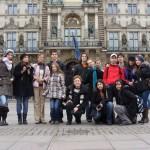 Ноември 2010, Хамбург - участници в проекта Европа и ние