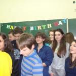 Рожден ден в класната стая 2010