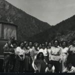 Випуск 1986,  учители на екскурзия до Самуиловата крепост
