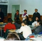 Випуск 1994, немска делегация в час по немски език през март 1994