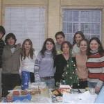 Випуск 2008, коледно чаепитие в часа по руски език