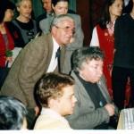 Випуск 2003, посещението на г-жа Шарон Майлс, съпруга на посланика на САЩ в София, през 2000