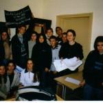Випуск 2003, участие в най-дългия урок в света през 2002