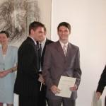 Випуск 2005, директорката г-жа Вера Катранджиева в немското посолство