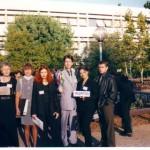 """Випуск 2003, първите участници от 91. НЕГ в програмата """"Модел на ООН"""" в Атина през 2001"""