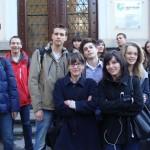 В 17.45 ч. пред Гьоте Институт на ул. Будапеща 1