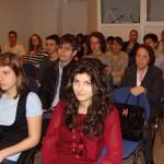Бивши и сегашни ученици и учители на 91. НЕГ на представянето на сайта на НЕГ http://91neg.bg