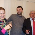 Ученици от Випуск 2004  и г-н Григор Димитров