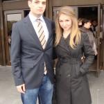 Лаура и Андрей от випуск 2009