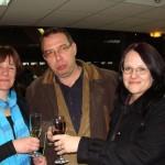 Бившите учители от 91. НЕГ - г-жа Караангова, г-жа Петрова и г-н Груев