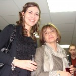 Лора от випуск 1999 и г-жа Джалева