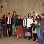 Ученици от випуск 1997 и 2001 със свои учители