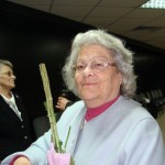 Г-жа Нина Пеевска - една от първите учителки в 91. НЕГ