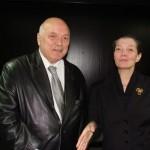 Директорката г-жа Катранджиева и доц. Николаев